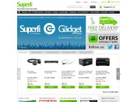 Superfi Online - UK's best supplier of hifi equipment including separates, systems and accessories. Purchase Home Cinema Equipment, DVD players, minidiscs, amplifiers, cassette decks, CD players, Digital recorders, personal stereos, speakers, turntables,