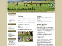 """svalovsbrukshundklubb.com """"hundkurs"""", """"Svalövs brukshundklubb"""", """"Skåne"""""""