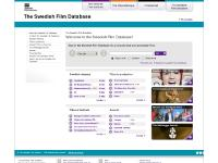 The Swedish Film Database