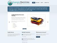 swansea-electrician.co.uk Services, Designed By Tootonic