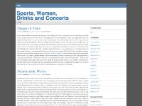 Sports, Women, Drinks and Concerts Las Vegas