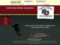 swiftcreekcougars.com track, football, cheerleading