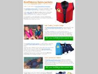 Original Konfidence Float Jacket, Konfidence Buoyancy Jacket, kids swim jackets, Konfidence Adult swim jacket