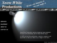 Snow White Productions, providing video services for the Fort McMurray region, producing professional quality video from script to edited Master and duplication