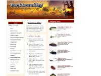 Tacklesmith - Tungsten Weights from Tru-Tungsten, River2Sea, and Keitech
