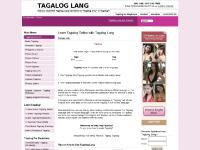 tagaloglang.com tagalog, learn ta