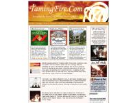TamingFire.Com - Home (Fire Dance Performers with Poi, Staff, Batons, Clubs, Flags, and More!)