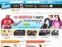 tamstreasuresonline.co.uk the mountain t-shirts uk, 3D big face animal shirts, cool t-shirts