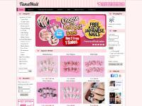 tananail.com Handmade Japanese 3D Nail Tips, Handmade nail tips, 3D nail tips