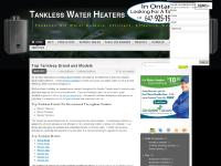 Tankless Water Heaters « Tankless Hot Water Heaters, Efficient, Effective, Endless.
