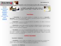 taquiminas.com.br TAQUIGRAFIA, DEGRAVAÇÃO, EVENTOS