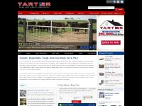 tartergate.com electric roping chutes, arena packages, all rodeo equipment