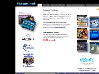 tazam.net website design, web design, website development