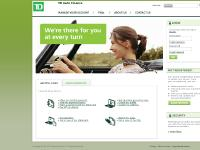 tdautofinance.com Make my monthly payment, Make a payment with my debit card, Pay off my vehicle
