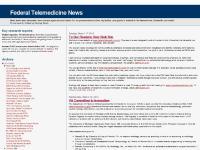 Federal Telemedicine News