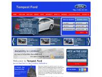 Tempest Ford, New and Used Fords for Sale in Lichfield, Staffordshire