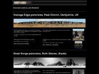 Stanage Edge photo panorama and Ruth Glacier panorama by John Hardwick: Terravista360