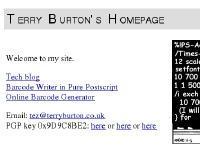 terryburton.co.uk