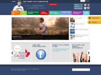 Terry Fox Foundation - A single dream. A world of hope.