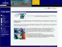 Beheizbarer Regler 44-5800, eu.tescom@emerson.com, Impressum, Tescom US