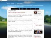 Tesis 2009: La elección