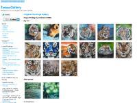 Linkedin, Behance, Flickr Photostream, Original Paintings