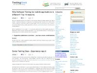 Software Testing Geek - Software Testing, Test Automation, Selenium, Test Management, Software Testing Services, Testing Training | Testing Geek