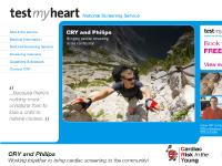 CRY Philips UK - Test My Heart Tour - Cardiac Screening Service