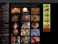 The throne of Tsar Boris Godunov, Ancient Russian Helmet, Ancient Russian Platter, Ancient scoop (kovsh)