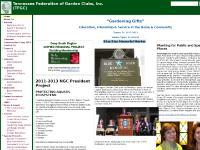 Awards List, Wildflower Awards/Grants, Calendar, Councils