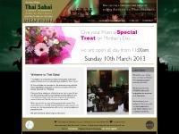Thai Sabai - Authentic Thai Restaurant in Sleaford, Lincolnshire