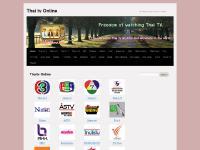 thaitvnow.com Thai tv 3, Thai tv 5, Thai tv 7
