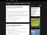 thawgaame.blogspot.com League of Legends Hacks, League of Legends Cheats, League of Legends Zoomhack
