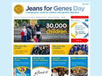 thegenies.co.uk jeans for genes day, friday 20th September, 2013
