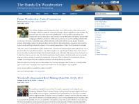 thehandsonwoodworker.com thehandsonwoodworker, woodworking, wood