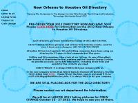 theoildirectory - New Orleans to Houston Oil Directory -