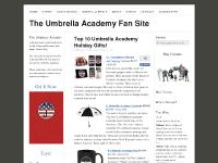 theumbrellaacademy.com 10. Gelaskins for iPhones and Laptops, 9. Umbrella Academy Umbrella, 8. Umbrella Academy Mug