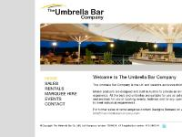 6m Umbrella Bar (Magda), 5.5m2 Umbrella Bar (Frieda), Mini Bar, MARQUEE HIRE