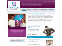 thomsonphysiotherapy.co.uk - thomsonphysiotherapy