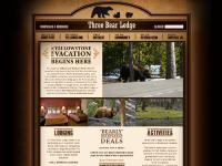 threebearlodge.com Yellowstone Lodging, West Yellowstone Lodging, Yellowstone Lodges