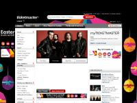 Tickets for concerts, theatre, football, family days out. Official Ticketmaster Site