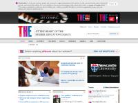 timeshigherawards.co.uk higher education jobs, education news