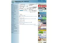 Estágios, Consulta Precatórios, Consulta Processual, Corregedoria