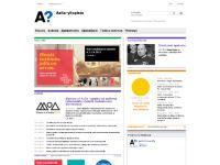Yhteystiedot ja yksiköt, Tekstiversio, Etusivu, Aallosta