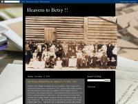 Heavens to Betsy !!