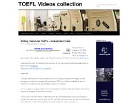TOEFL Videos collection