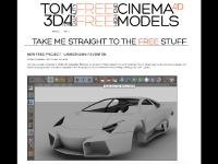 tom3d4.com Free Models, Paid Models, Plugins