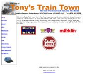 tonystraintown.com Lionel, Marklin HO, Marklin Z