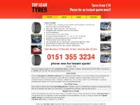 topgeartyres.co.uk top gear tyres north west ellesmere port part worn tyre specialists