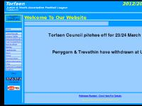 torfaenleague.co.uk